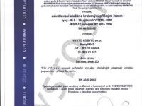 Certifikát č.4